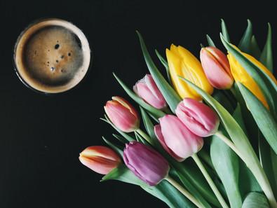 De la joie dans l'air. Des fleurs dans mon coeur.