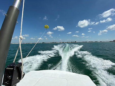 Flying high in Treasure Island, FL