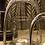 Thumbnail: Stigbygel ljuslykta stor silver