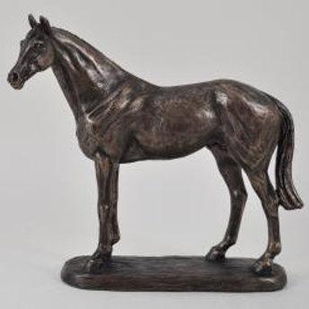 "Brons skulptur ""Ascot Andy"""