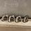 Thumbnail: Servettringar & Julgranshänge silver