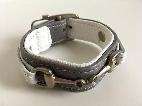 Armband Bett grå/vit