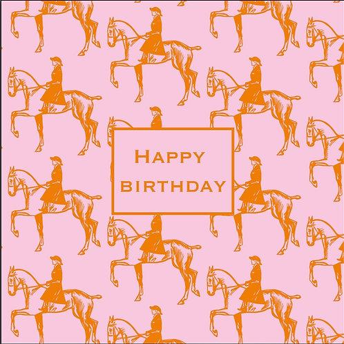 Födelsedagskort Pink