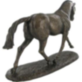 Equestriandesign bronshäst