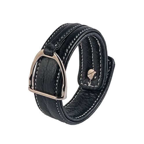 Armband Stigbygel svart
