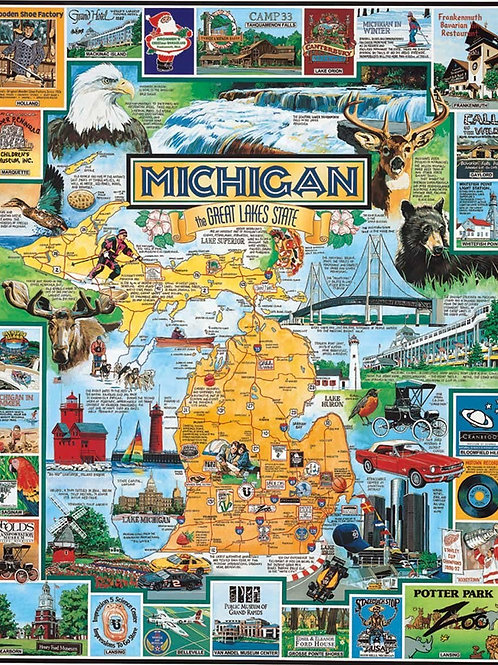 The Great Lakes of Michigan Puzzle