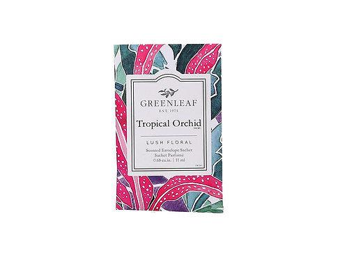 Tropical Orchid Sachet