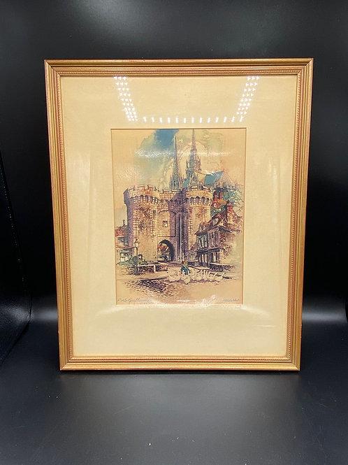 Print of Port Guillaume