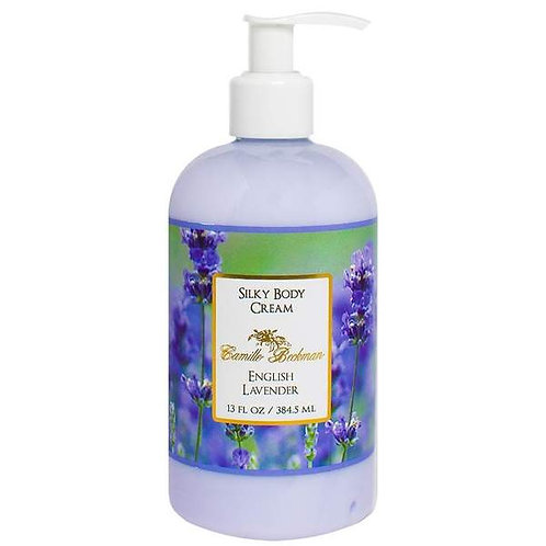 English Lavender 13oz Silky Body Cream