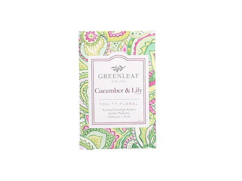 Cucumber and Lily Sachet
