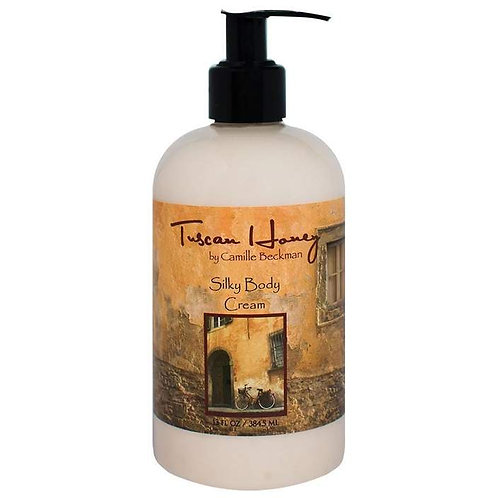 Tuscan Honey 13oz Silky Body Cream