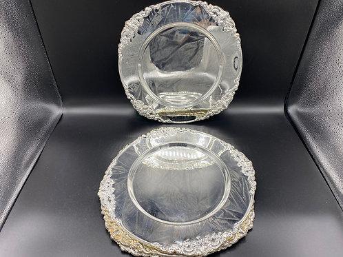 Godinger Silver Plate Trays