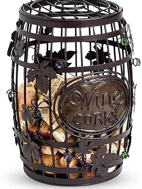 Barrel Cork Cage