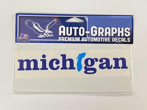 Michigan Special Sticker