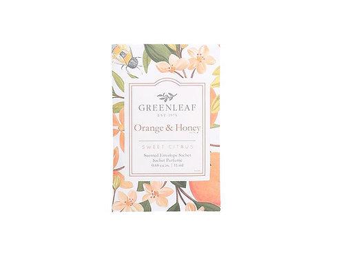 Orange and Honey Sachet