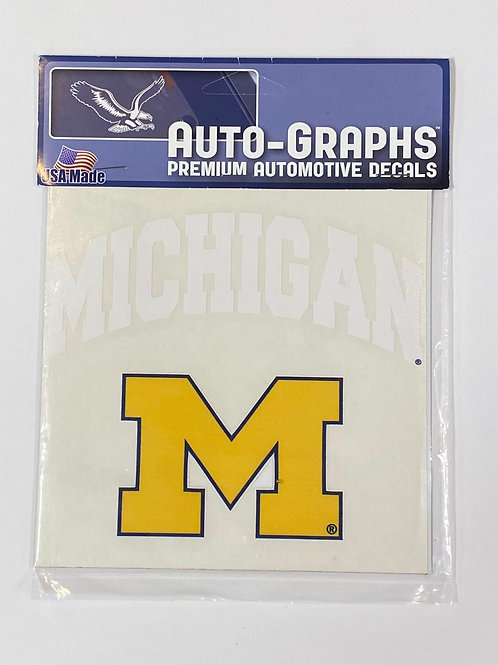 Michigan M Sticker