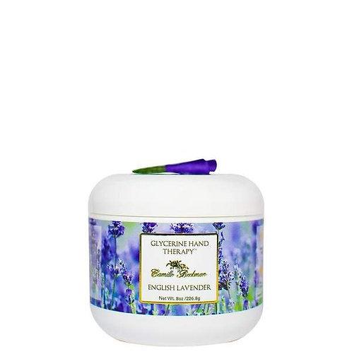 English Lavender 8oz Glycerine Hand Therapy