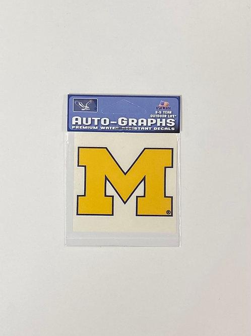 Mini M Sticker
