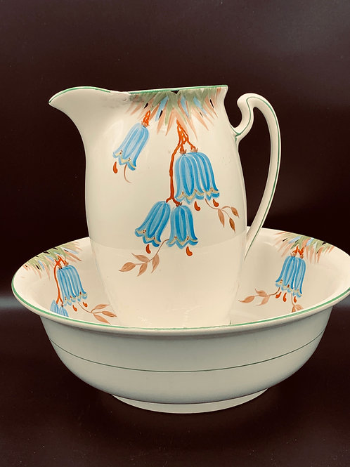 Vintage pitcher and bowl