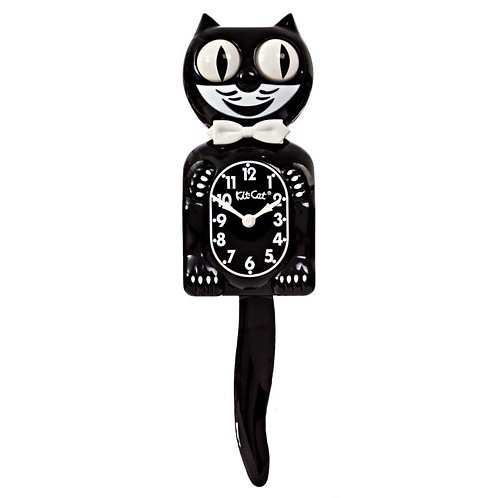 Black Kit-Cat Clock