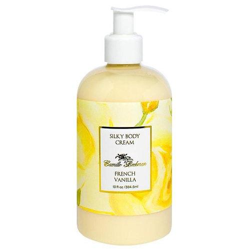 French Vanilla 13oz Silky Body Cream