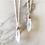 Thumbnail: MIXED METAL DAINTY QUARTZ PENDANT   necklace
