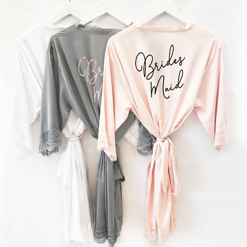 BRIDESMAID | robe