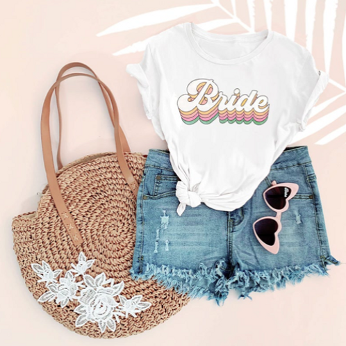 RETRO BRIDE BABE | tee