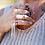 Thumbnail: HEMATOID QUARTZ PENDANT   necklace