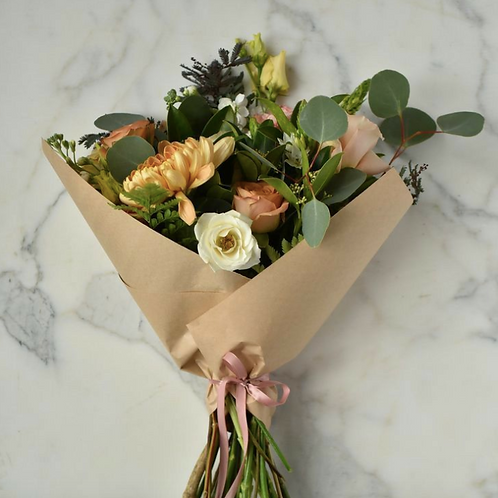 PAPER WRAPPED | bouquet