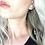 Thumbnail: QUARTZ HOOP DUSTER | earrings