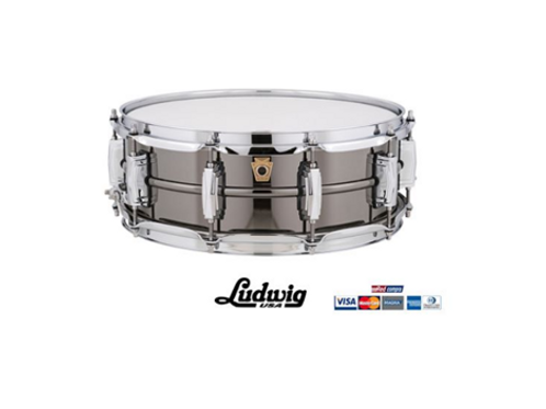 "TAMBOR LUDWIG BLACK BEAUTY 14"" X 5"" LB416"