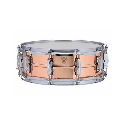 TAMBOR LUDWIG COPPERPHONIC 14X5 SMOOTH POLISHED SHELL