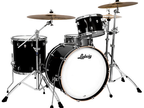 "SHELLPACK LUDWIG NEUSONIC 3 Piezas 22"", 12"", 16"""