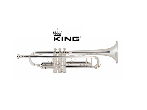 TROMPETA Bb KING SILVER FLAIR 2055S