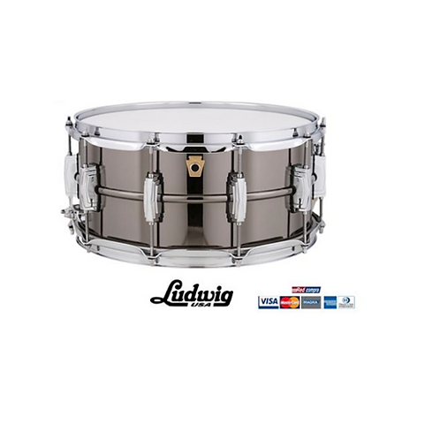 "Tambor Ludwig BLACK BEAUTY 14"" X 6.5"" LB417"