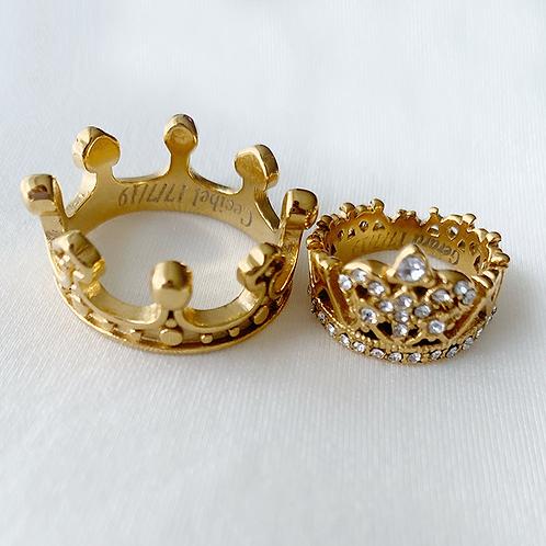 Anillos de Rey y Reina para parejas