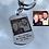 Thumbnail: Llavero personalizado con foto y texto