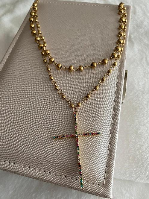Cadena de cruz
