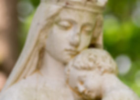 Mariabeeld Landgoed de Leonardushoeve