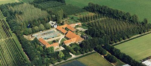 Luchtfoto Landgoed de Leonardushoeve