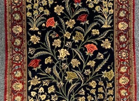 Persian Qum Wool on Cotton