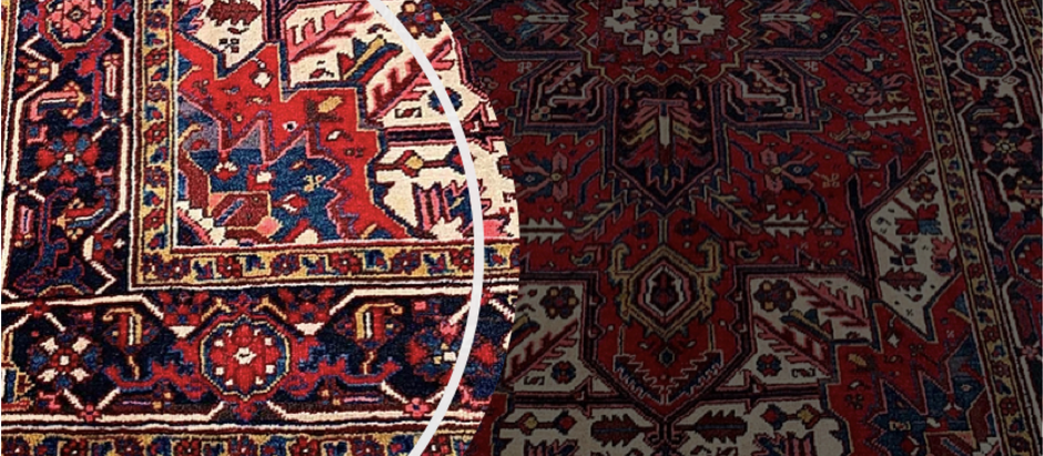 Where the sophisticated rug design of our logo originates from...