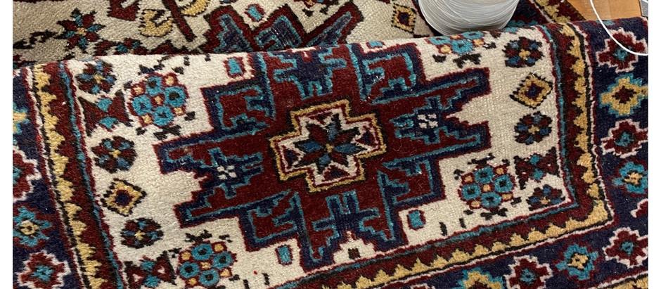 How to fix fringe/tassel damage on Oriental & Persian rugs