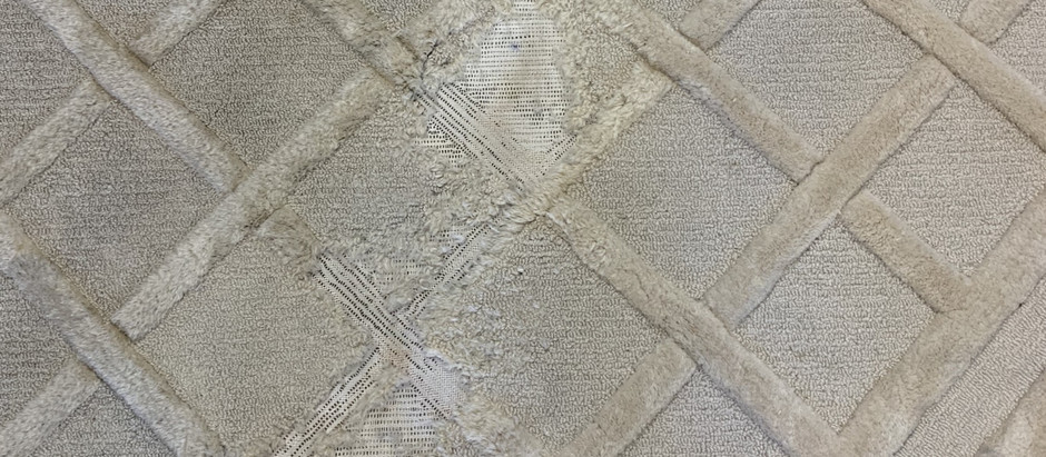How to identify moth damage and how to prevent Oriental & Persian rugs from moth damage?