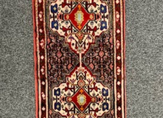Bidjar Runner Rug Wool on Cotton