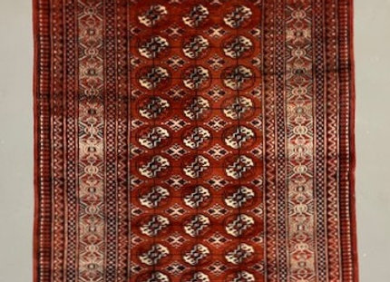 Pakistan Bokhara Wool on Cotton