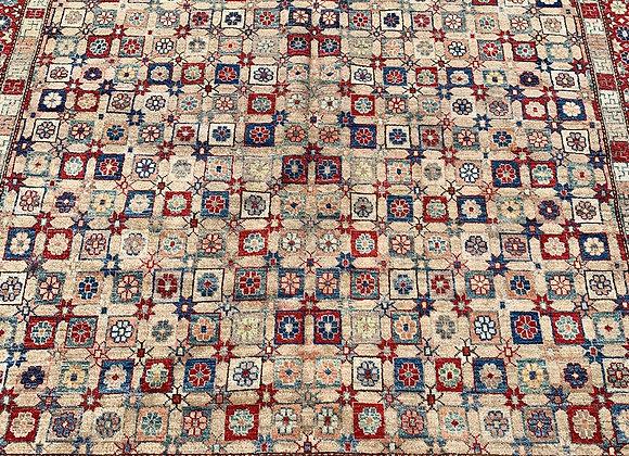 Afghan Wool on Wool