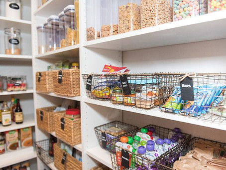 Tips on Organising Your Pantry