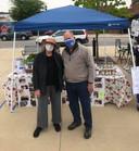 Jim & Priscilla-Farmer's Market April 24